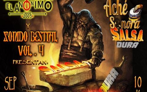 ACHÉ SONORA celebra 8 años de estar forjando salsa dura en El Anónimo Bar